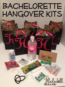 Bachelorette Hangover Kits