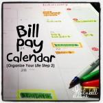 Bill Pay Calendar