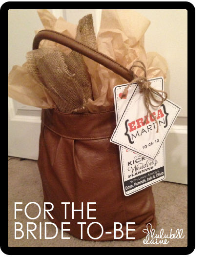 Bride To-Be Gift Idea