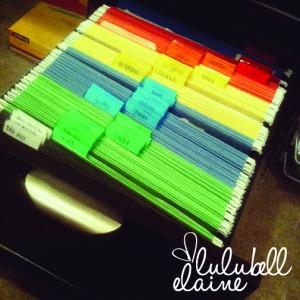 Filing Organization System