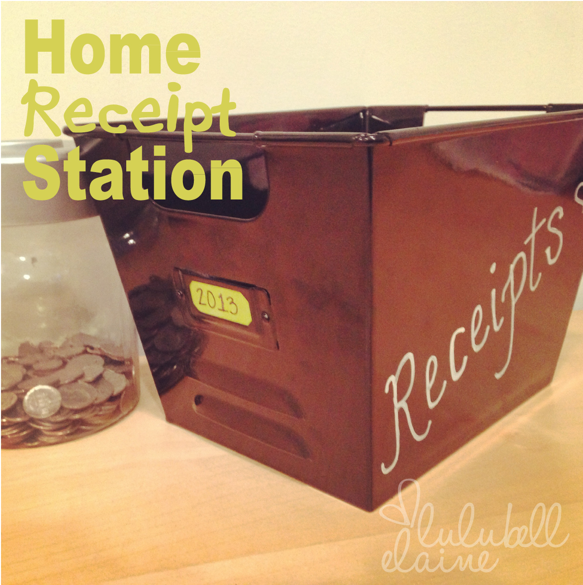 Home Receipt Station