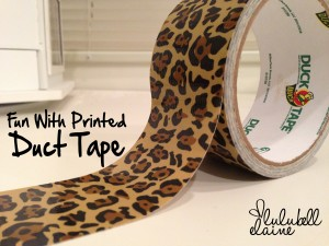 Leopard Print Duct Tape