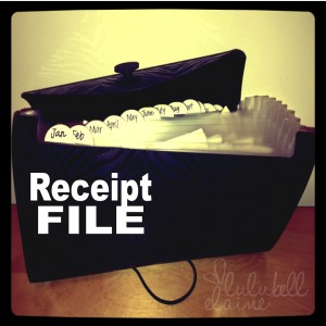 Receipt File