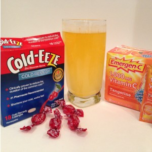 How To Fight Off A Cold - Cold Eeze and Emergen-C