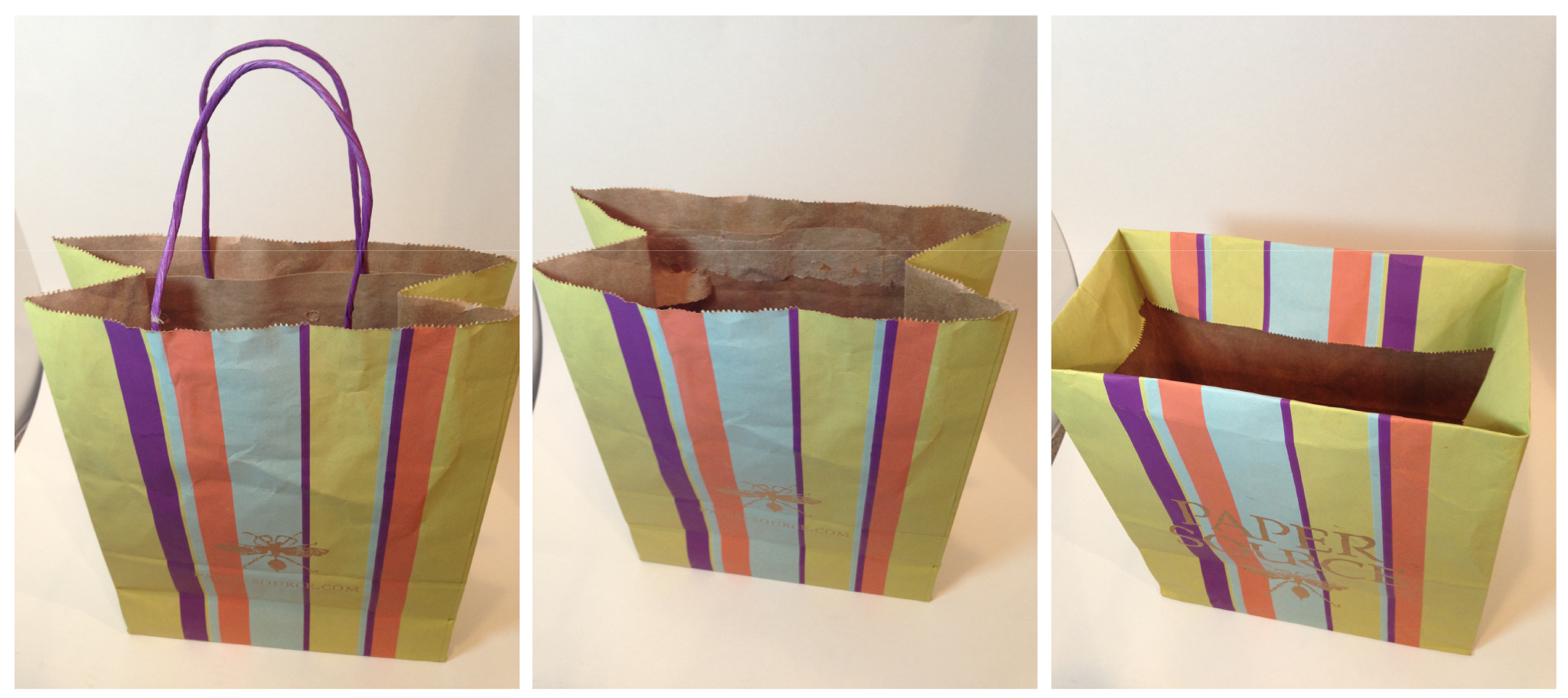 Upcycling Old Store Bags Into Cute Gift Bags Lulubell Elaine