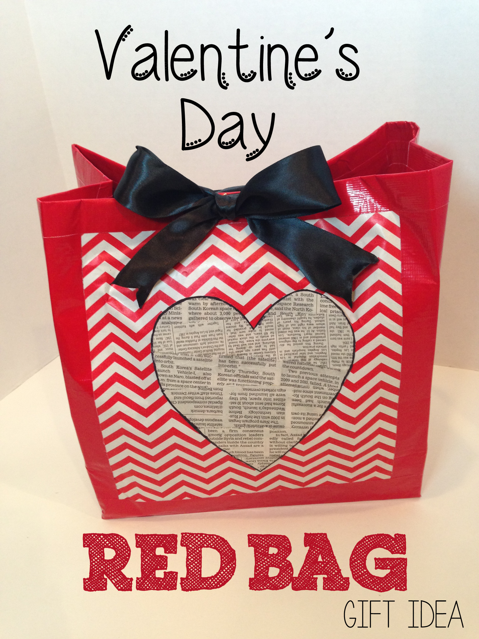 Valentine S Day Red Bag Gift Idea