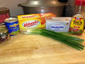 Velveeta Cheese Log Ingredients