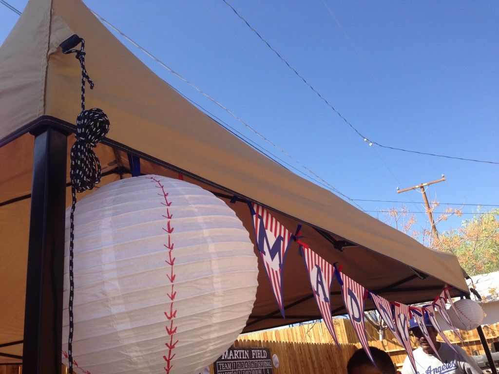 Baseball Party - Ball Lanterns & Pennant Banner